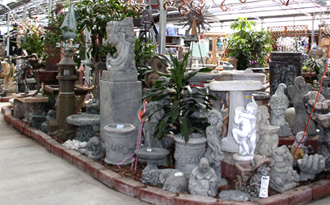 Garden Decor Display